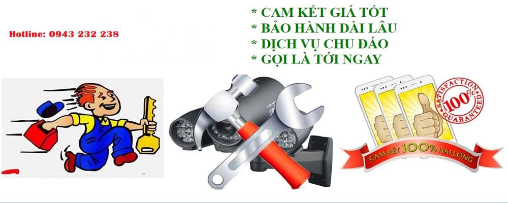 dịch vụ sửa chữa camera