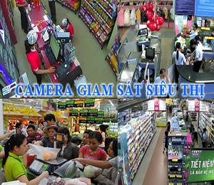 lắp camera an ninh chống trộm cắp trong siêu thị
