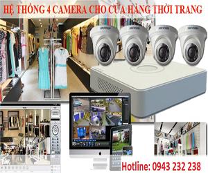 lắp đặt camera cho các shop thời trang